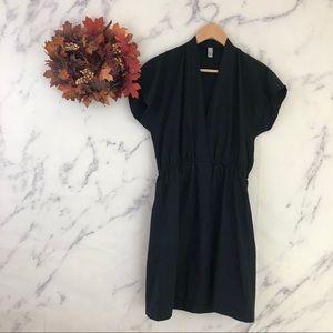 American Apparel Tunic Dress In Black
